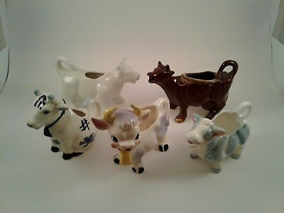 """Mixed Lot """"Cow"""" Coffee Creamers"""