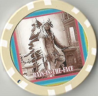 Chief Rain-In-The-Face    Collector  Chip  War Chief Of Lakota