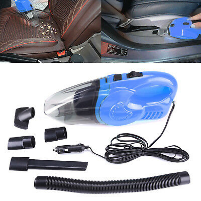 Portable Hand Held Car Home Truck Rechargeable Vacuum Cleaner Hoover Wet DRY NEW