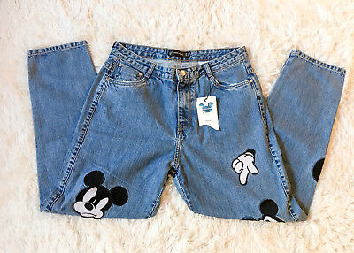 Baby & Toddler Clothing Clothing, Shoes & Accessories Disney Baby Girl Zara 3-6 Month Jean Jegging Denim Micky Mouse Distressed