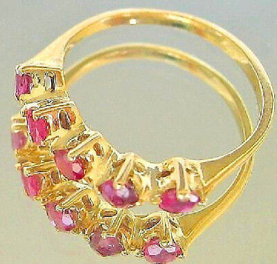 Pretty ღ♥ Rubinringe Rubin Ring in aus Gold Rubine Damen Antik with Ruby antique