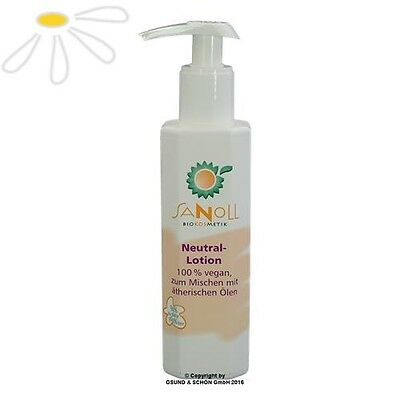 Aktion kurzes MHD! Sanoll Neutral Lotion 150 ml Biokosmetik