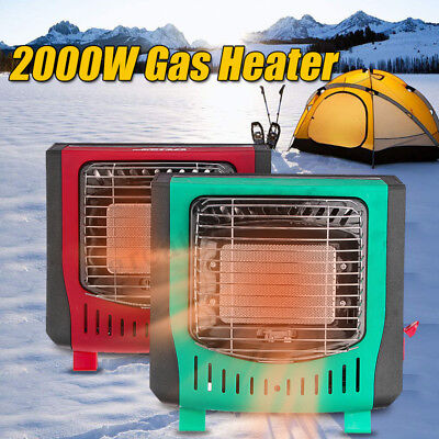 Portable Butane Gas Heater Outdoor Camper Tent Hiking Camping Survival Heat
