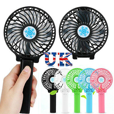 Considerate Usb Charging Portable Handheld Electric Fan Air Conditioner Cooler Cooling Fan Summer Desk Table Cooling Fans Hand Table Home Small Air Conditioning Appliances