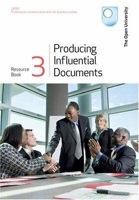 Producing Influential Documents Resource Book: Bk. 3,Open University Course Tea