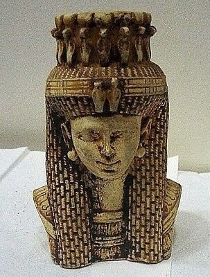 RARE ANCIENT EGYPTIAN ANTIQUE CLEOPATRA Ptolemaic Kingdom Egyptian Antique BC