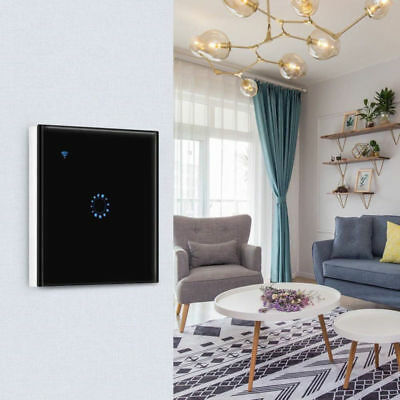 WIFI Touch Smart Light Dimmer Alexa Lichtschalter Wandschalter APP Fernbedienung