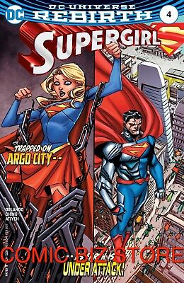 Supergirl #4 (2017) 1St Printing Bagged & Boarded Dc Comics Rebirth