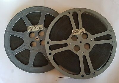 'Kill Her Gently' 1957 2x vintage 16mm movie projector reels optical sound film