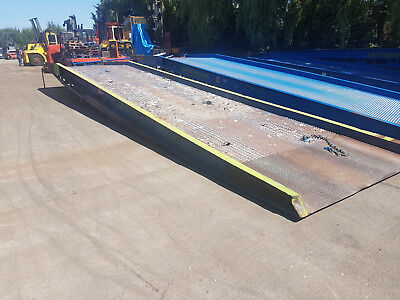 SOLD Easyramps ER10.1 10 ton mobile container lorry loading ramp dock