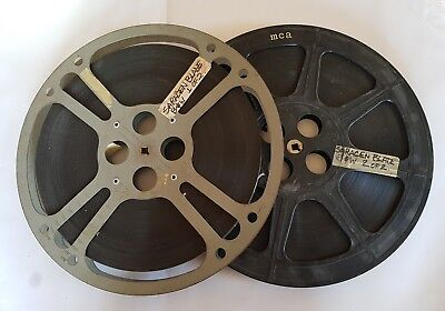 The Saracen Blade 1954 2x vintage 16mm movie projector reels optical sound film