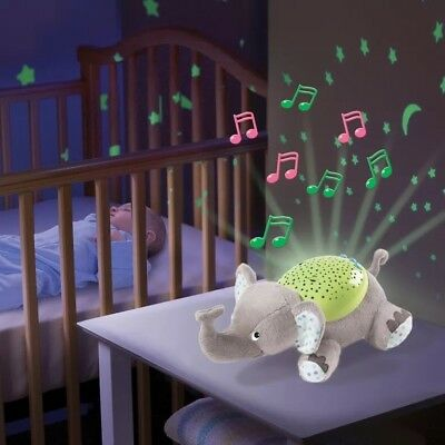 SUMMER SLUMBER BUDDIES BABY MUSIC NIGHT LIGHT COT PROJECTOR used once stil boxed