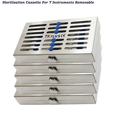 Dental Instruments Sterilization Cassettes Removable & Slim Cassette Rack Tray