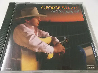 George Strait - Chill Of An Early Fall - 1991 Mca Cd Album Made In U.s.a.