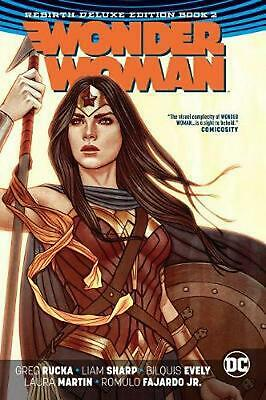 Wonder Woman by Greg Rucka Hardcover Book Free Shipping!