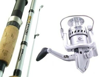 SAMBO MENACE 7'0 10kg Spinning Fishing Rod and Reel Combo Trout Bass Presale
