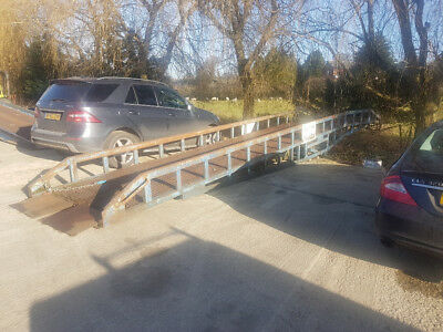 Chase 7 ton mobile container lorry loading ramp dock bridge