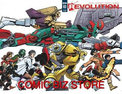 Revolution #3 (2016) 1St Printing Sub Cover B Bagged & Boarded Idw Comics