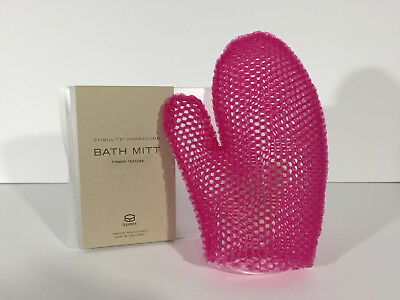 "One ""Supracor"" Stimulite Bath Mitt ""Magenta""...A New Boxed Authentic Item!!"