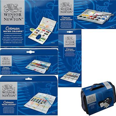 Windsor & Newton Cotman Watercolour Paint Sets
