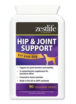 Zestlife Hip & Joint Care for dogs 90 tablets mobility support for stiff joints