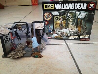 The Walking Dead Building Set Hospital Doors
