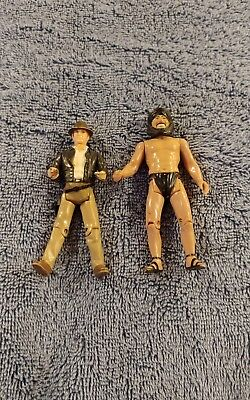 Vintage Indiana Jones Raiders Of The Lost Ark Action Figure Lot Kenner 1982