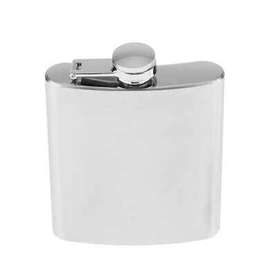 7oz Stainless Steel Alcohol Flagon Portable Hip Flask Whiskey Drinkware