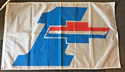 Vintage 1970's Chevrolet Dealer's Flag Banner Chevy GM Pennant Promo #1 Auto WOW