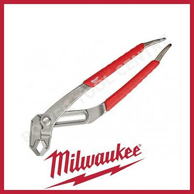 "Milwaukee Plumbers Water Pump Pliers 12"" Grips V-Jaw 300mm Capacity 70mm"