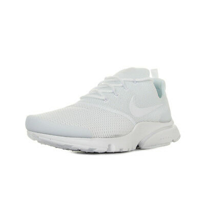 new arrival d2053 cf340 Chaussures Baskets Nike homme Air Presto Fly taille Blanc Blanche Textile  Lacets