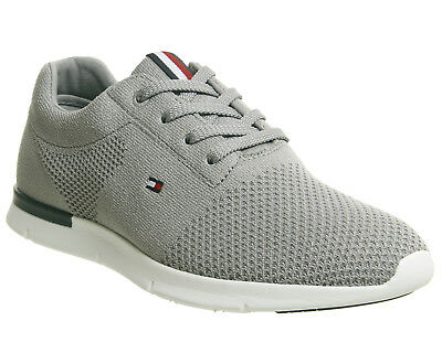 ec67cd9e3 MENS TOMMY HILFIGER Tobias Knit Runner Navy Trainers, UK Size 11 ...