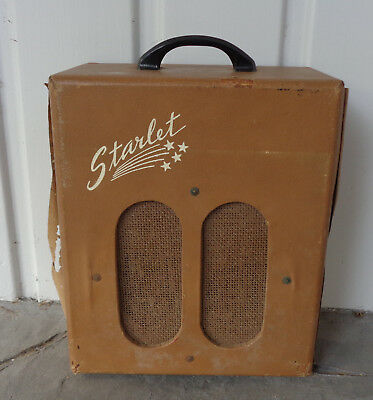 Electromuse Starlet Guitar Amplifier – 1940's For Parts or Repair Vintage
