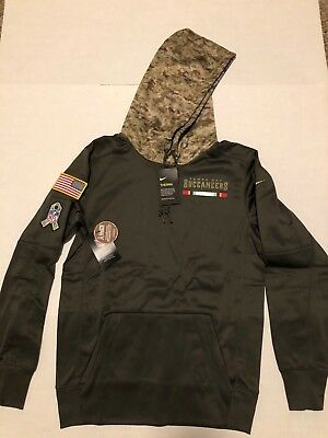 NWT Nike Tampa Bay Buccaneers Salute To Service Men Therma Hoodie Camo Small 4fd1ff7df