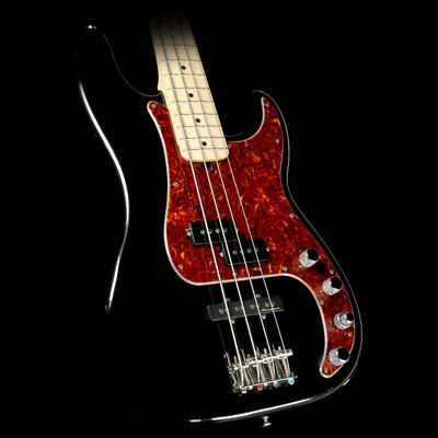 Fender American Deluxe Precision Bass Guitar Warmoth Neck Black