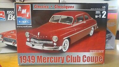 AMT 1949 Mercury Club Coupe 1/25 Model Kit 6815-NEW In Open Box