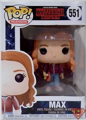 Max with Skateboard Collectible Vi Funko 22569 Pop Television Stranger Things