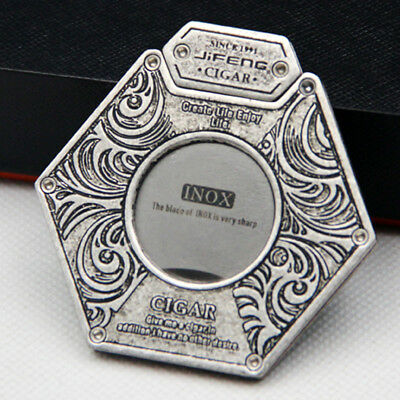 Fine JIFENG Copper Stainless steel blade Cigar Cutters In Gift Box GS2152
