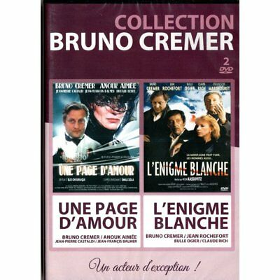 DVD Collection Bruno Cremer (L Énigme Blanche - Une Page d'Amour) 2 DVD - Bruno