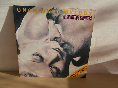 7 inch Vinyl         RIGHTEOUS BROTHERS                   ***UNCHAINED MELODY***