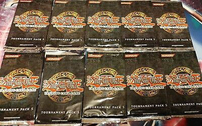 Yu-Gi-Oh 10x Tournament Pack 5 Booster, Englisch, TP5, Sealed