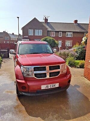 2007 DODGE NITRO DIESEL - 2.7 CRD SE 5dr 4wd 67000 miles Plate included