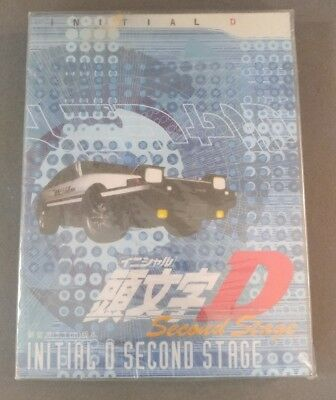 Initial D Second Stage 3 Discs Brand New Sealed DVD
