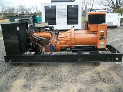 75 kw GENERAC open or enclosed single phase natural gas or propane generator set