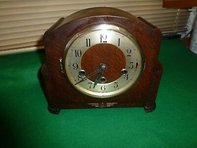 Deco Style German Westminster Chimes Mantle Clock