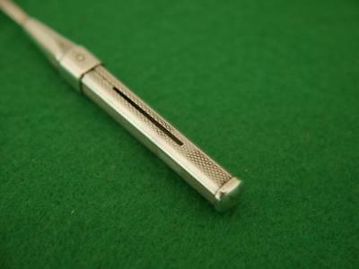 Superb Vintage Hallmarked 925 Solid Sterling Silver Propelling Tooth Pick