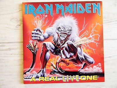 Iron Maiden / Bruce Dickinson A Real Live One Klappcover LP in Mint Zustand