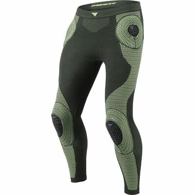 Dainese D-Core Armor Mens Base Layer Pants Black/Fluo Yellow 3XL