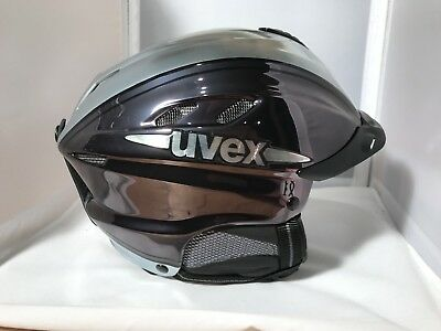 Uvex Ride Motion Chrome Silber Black S