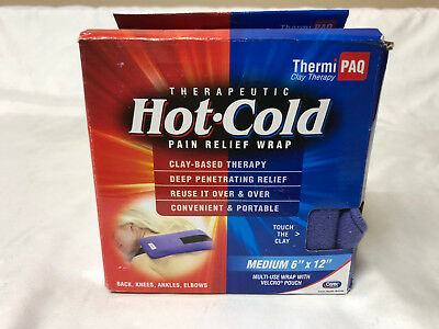 """ThermiPaq Hot/Cold Pain Relief Wrap Medium (6""""x12"""")"""